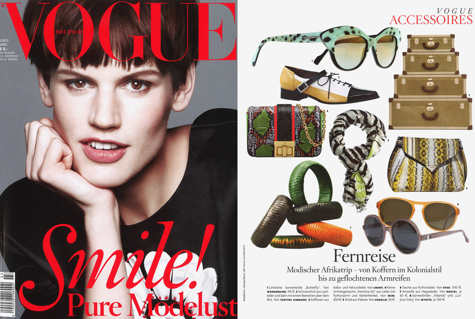 MYKITA Clipping Vogue Germany