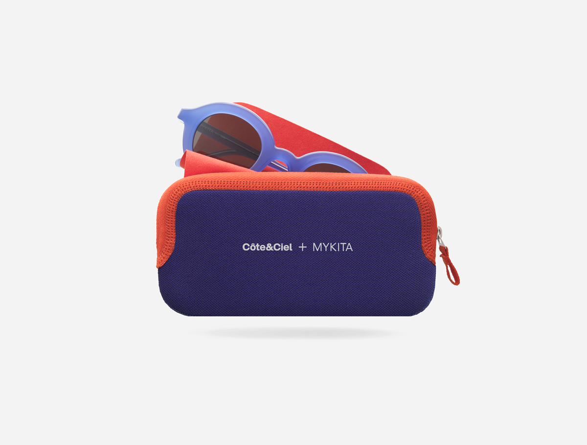 MYKITA Indigo Red Glasses