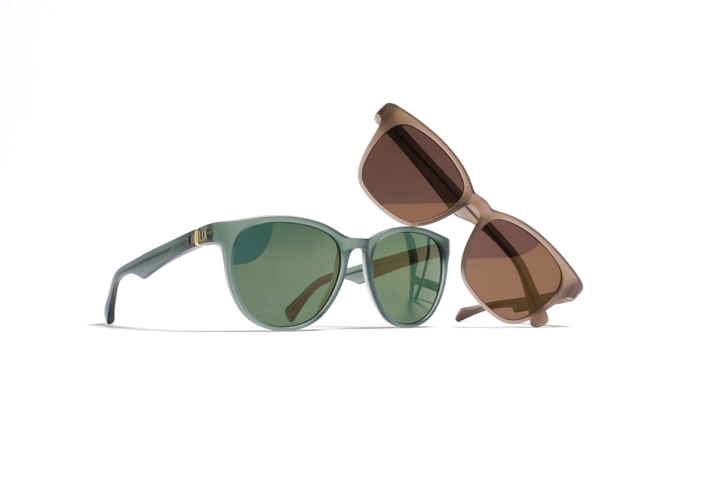 MYKITA No2 Group Mercer Mystigreen Greene P1 Taupe