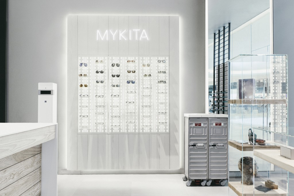 MYKITA designer sunglasses and optical frames at Niche Nation Embassy in Bangkok's shopping destination Central Embassy.