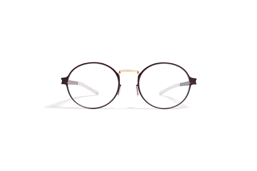 MYKITA Decades No1 Rx Ninni Gold Burgundy Clear