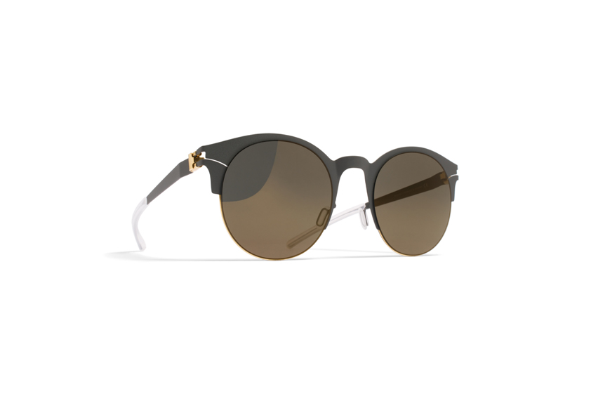 MYKITA Decades No1 Sun Seraphina Gold Basalt Brilliantgrey Solid