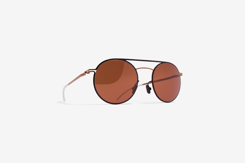 MYKITA Lite Sun Roald Copper Black Brown Metallic Adjgray