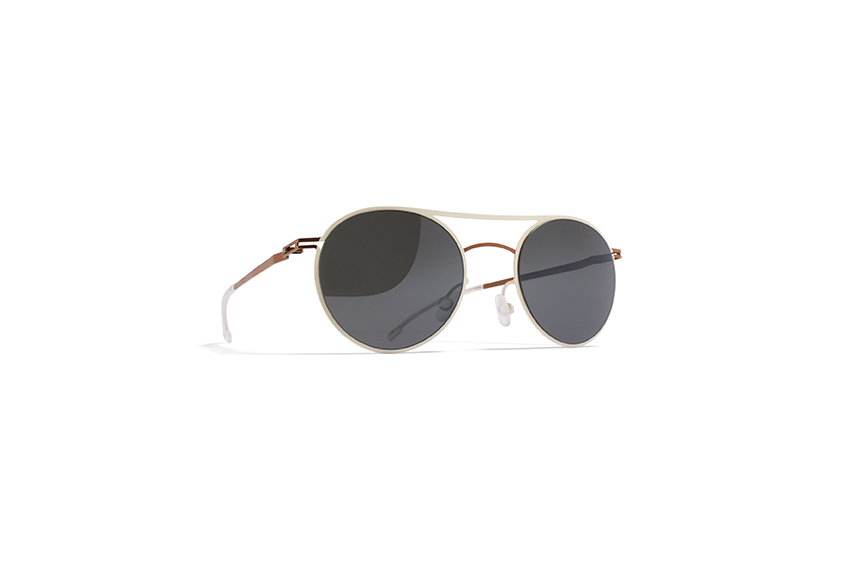 MYKITA Lite Sun Tore Copper Silkwhite Grey Flash