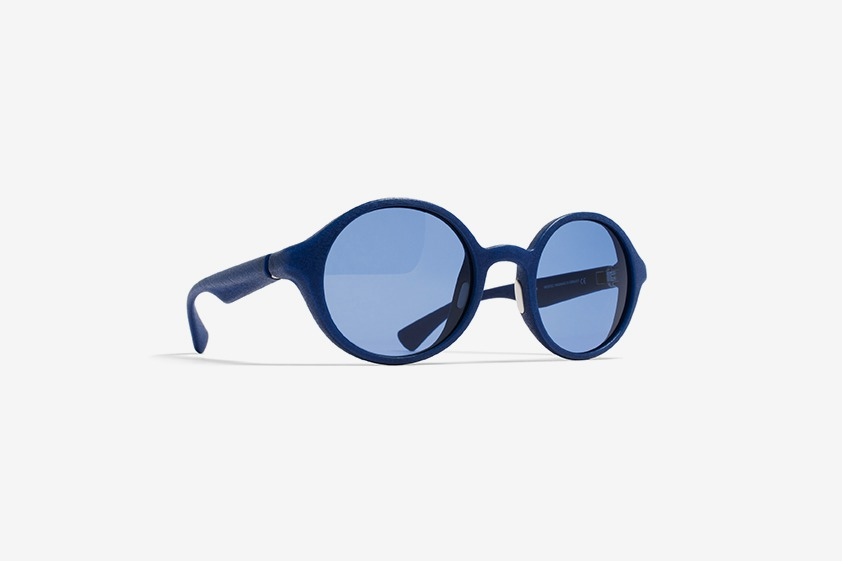 The highlights of the MYKITA collection for the summer of 2014 featuring MYKITA MYLON round sunglasses ENO