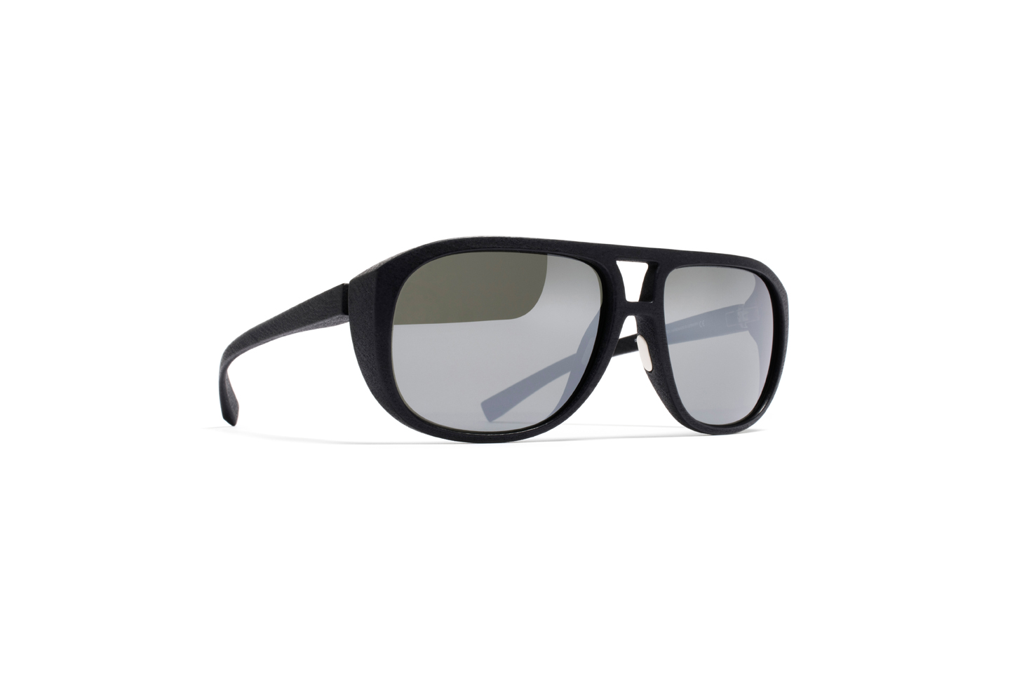 MYKITA Mylon Sun Lew Md1 Pitch Black Coal Flash