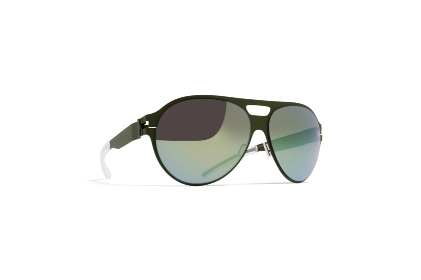 MYKITA No1 Sun Bronco Olive Superivory Flash
