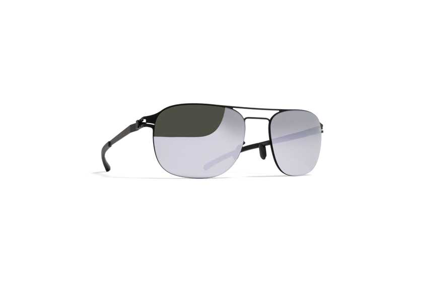 MYKITA No1 Sun Paco Black Darkgrey Flash