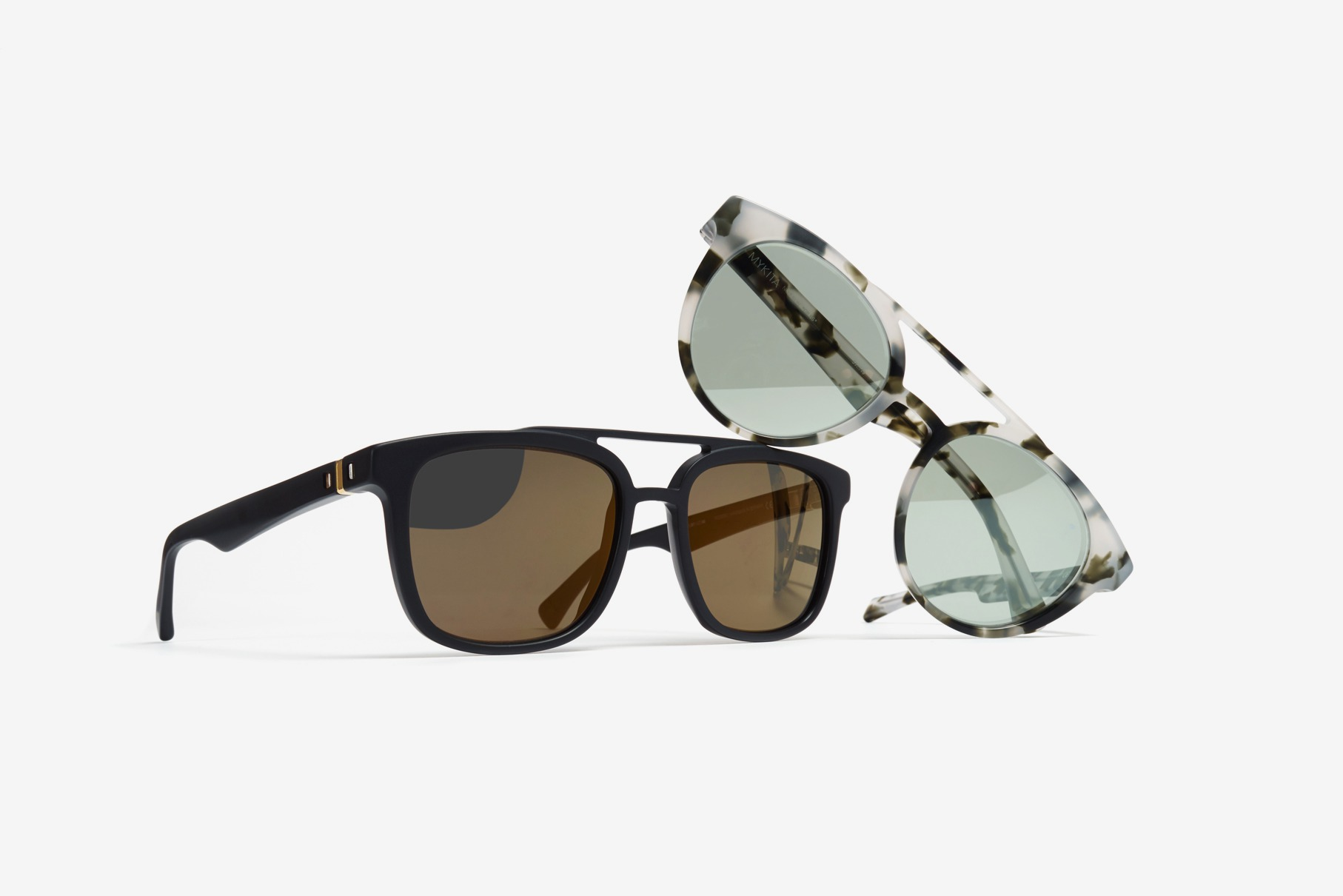A first sneak peek at the new MYKITA collection of designer sunglasses and optical frames featuring Giles and Jarvis.