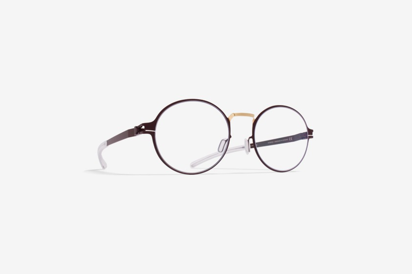 Panto is a key shape in vintage eyewear design and the main inspiration for MYKITA DECADES' prescription glasses NINNI.