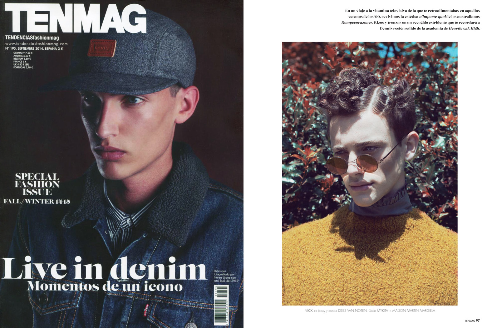 MYKITA Clipping Tenmag Spain