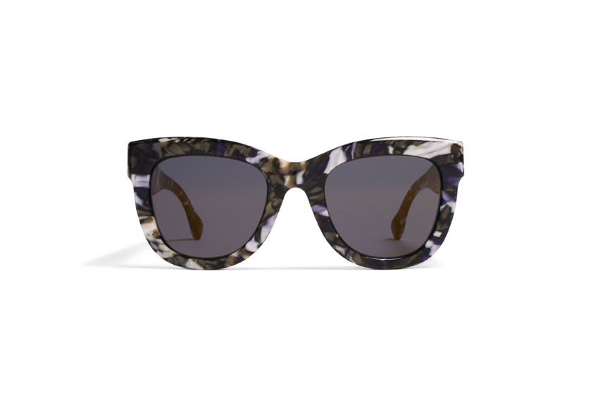 MYKITA Dd No2 Sun Dawn Terrazzo Blue Brilliantblue Solid