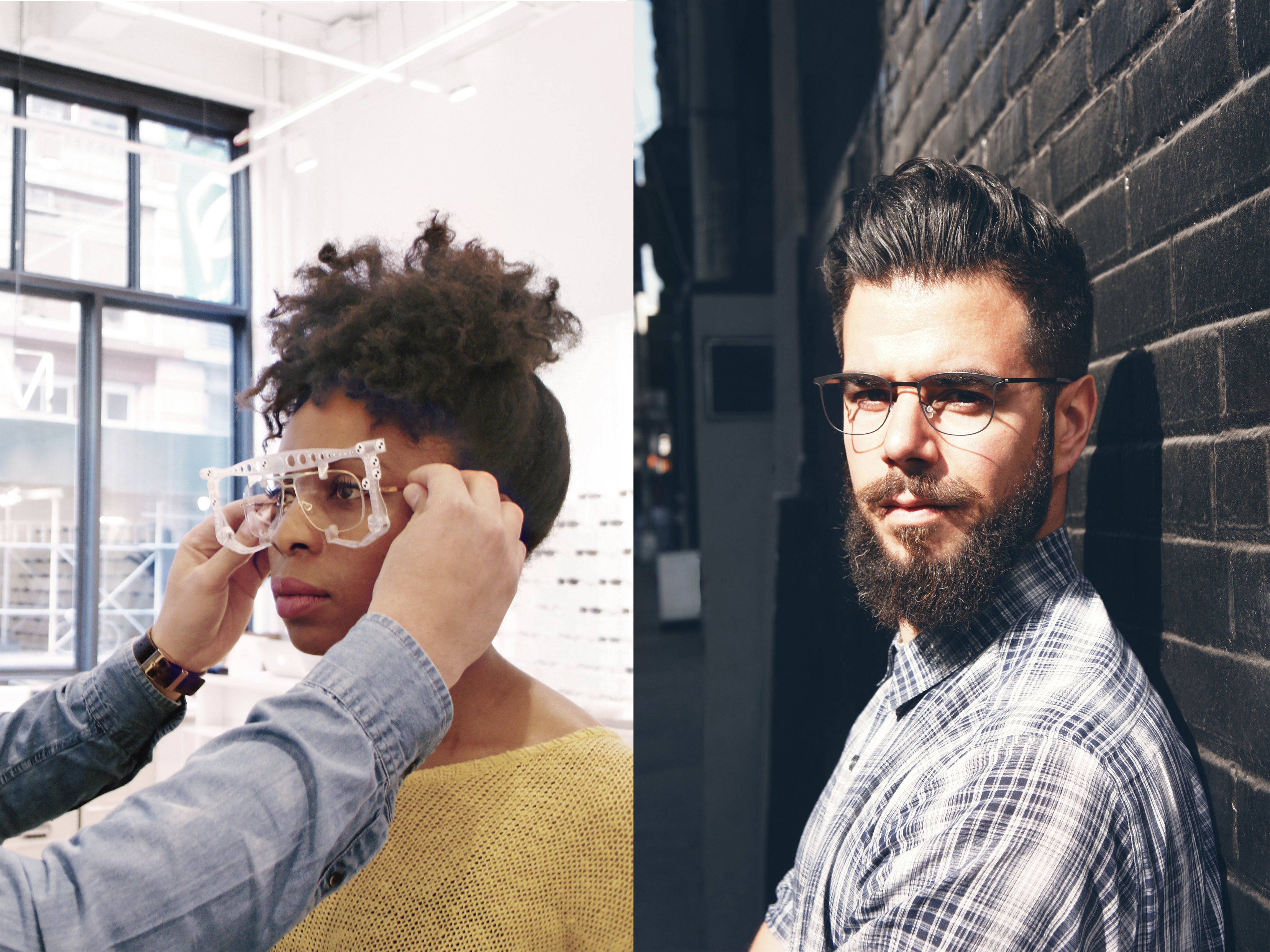Eye-exams at MYKITA Shop New York using technology from Carl Zeiss Vision
