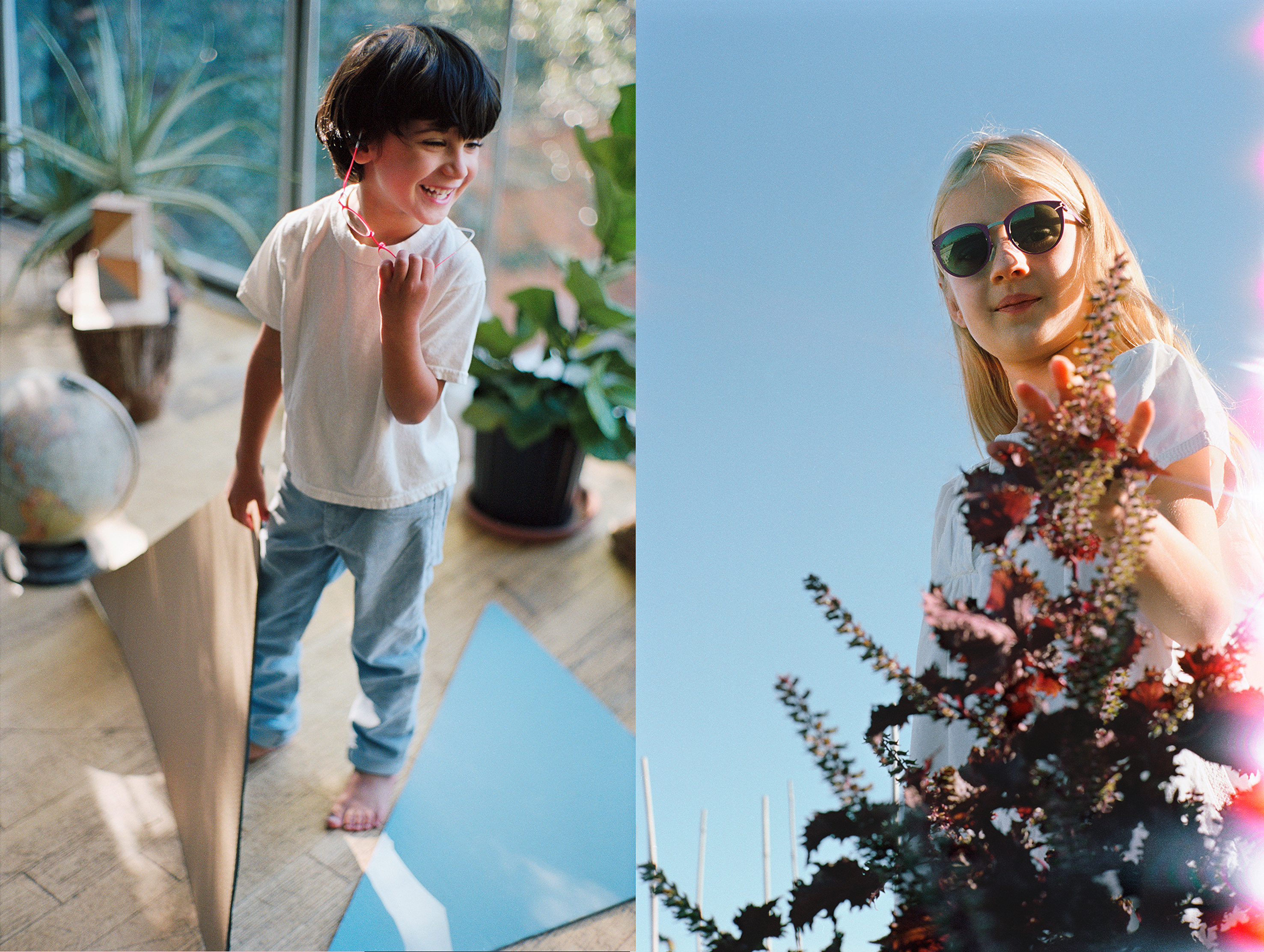 MYKITA FIRST, the new eyewear collection for children by MYKITA. Photo by Mark Borthwick.