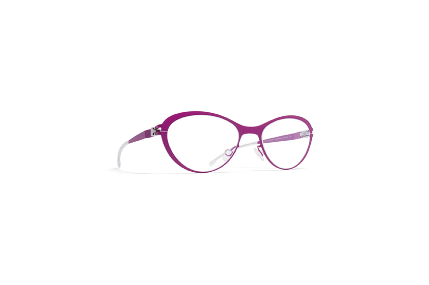 mykita first KIWI, cat-eye prescription frame for children by MYKITA