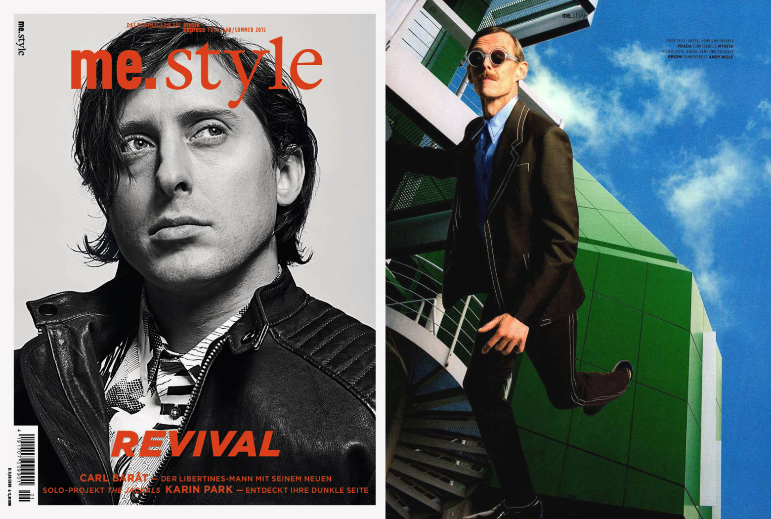 MYKITA + Maison Margiela sunglasses MMDUAL006 featured in ME STYLE Germany