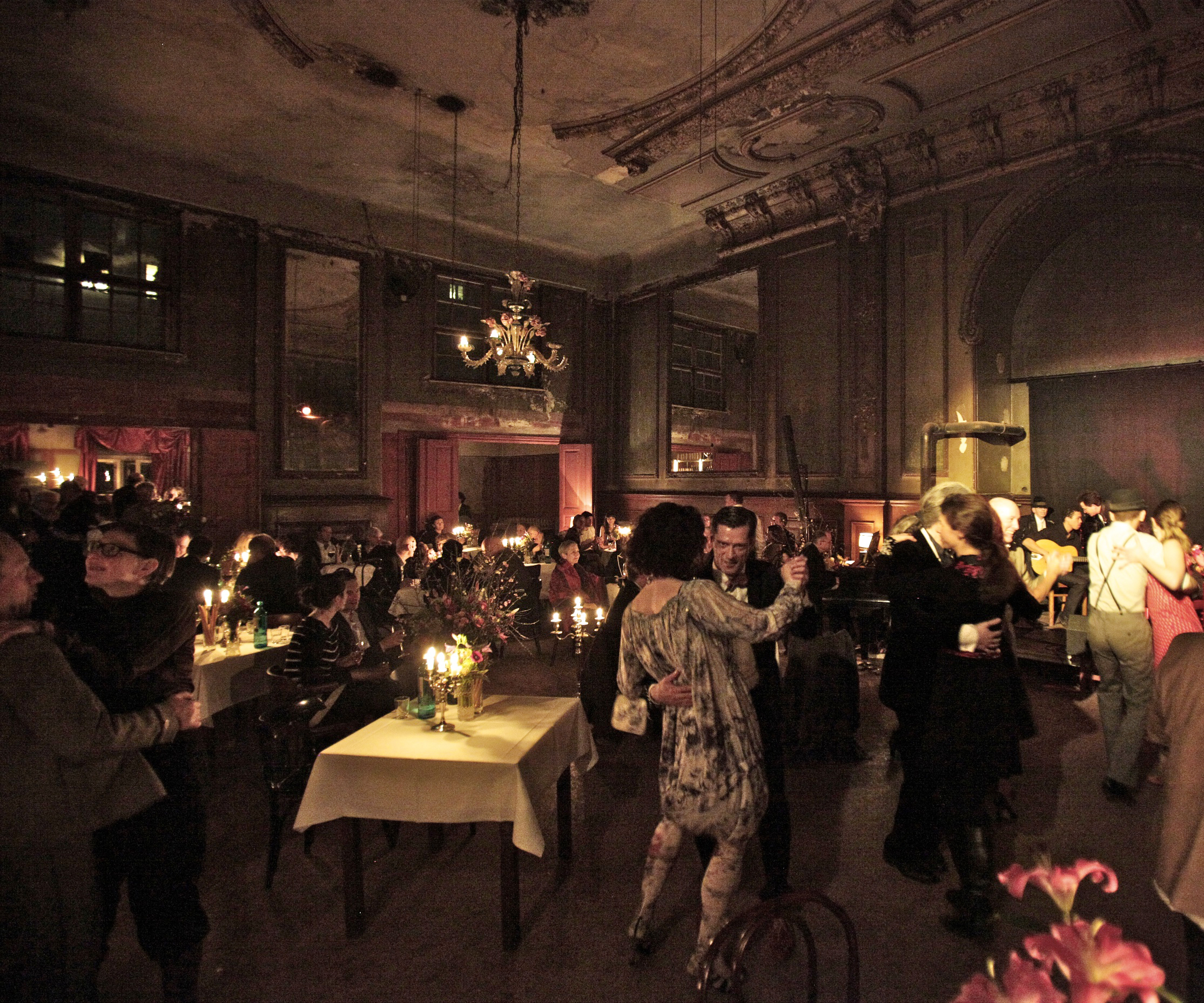 The mirror room at Clärchen's Ballhaus, one of MYKITA's recommended places to go dancing