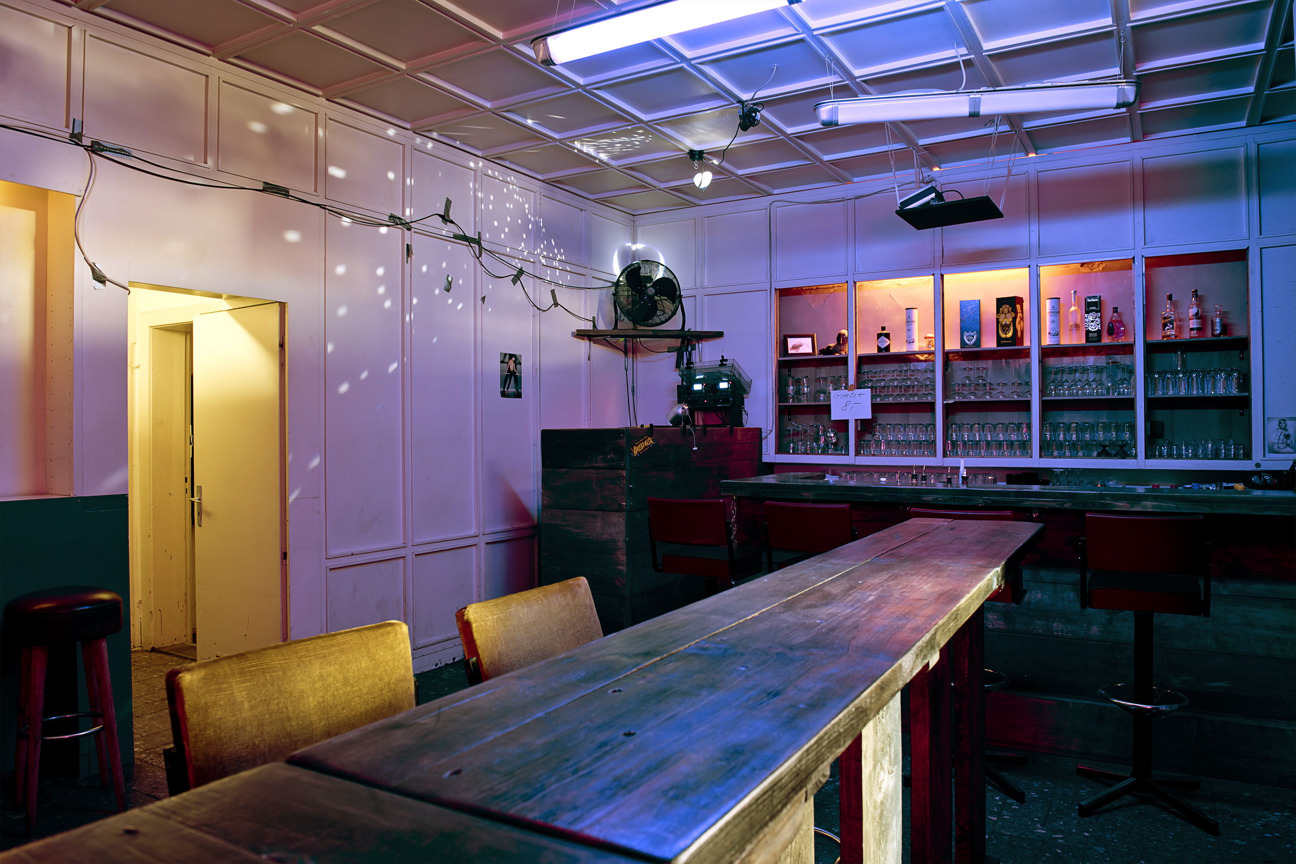 Main room at Larry, one of MYKITA's recommended places to dance in Berlin