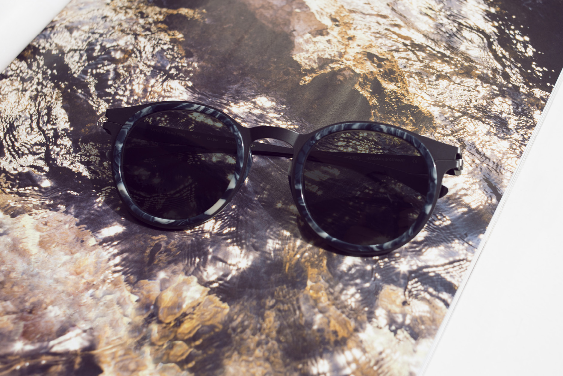 MYKITA and Damir Doma sunglasses DD2.2 in MYKITA Journal's five best sunnies for fashion week