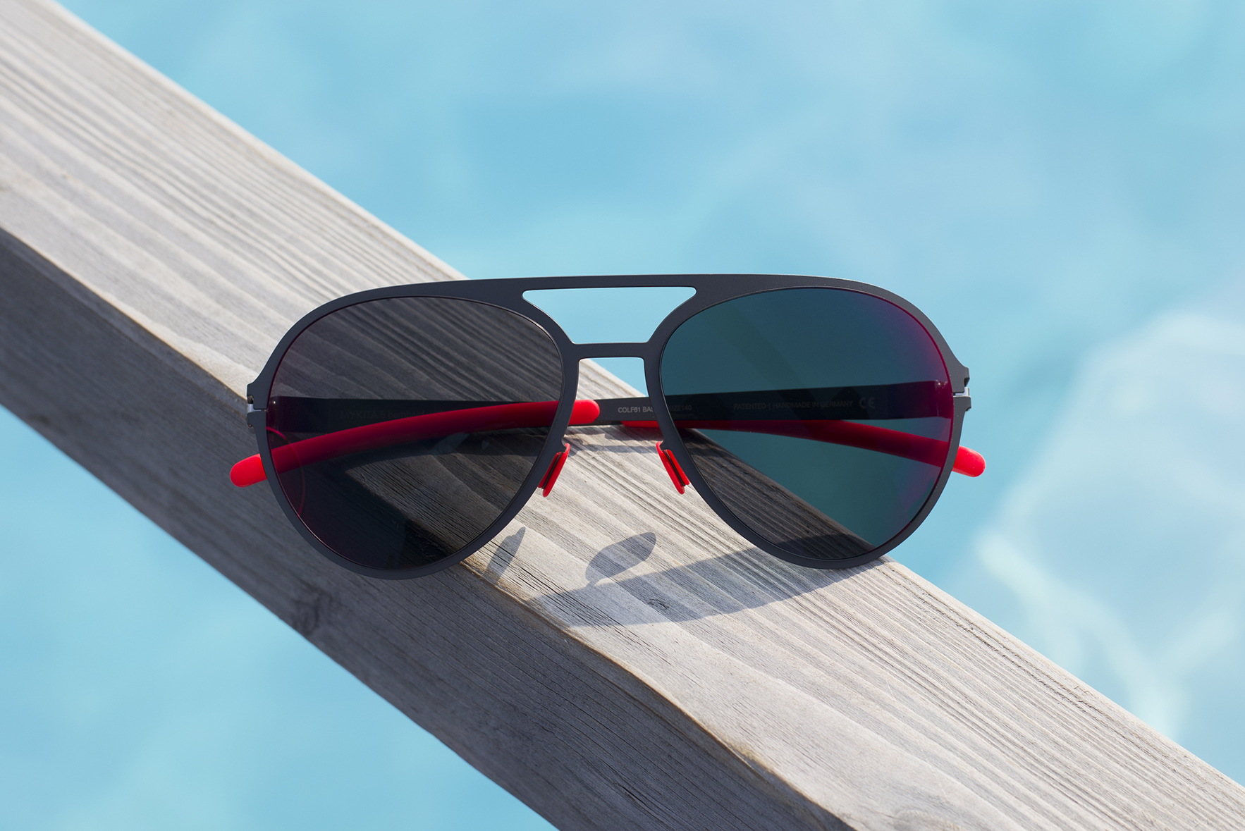 MYKITA and Bernhard Willhelm GUSTL is one of the five best sunglasses for a day by the pool on MYKITA Journal