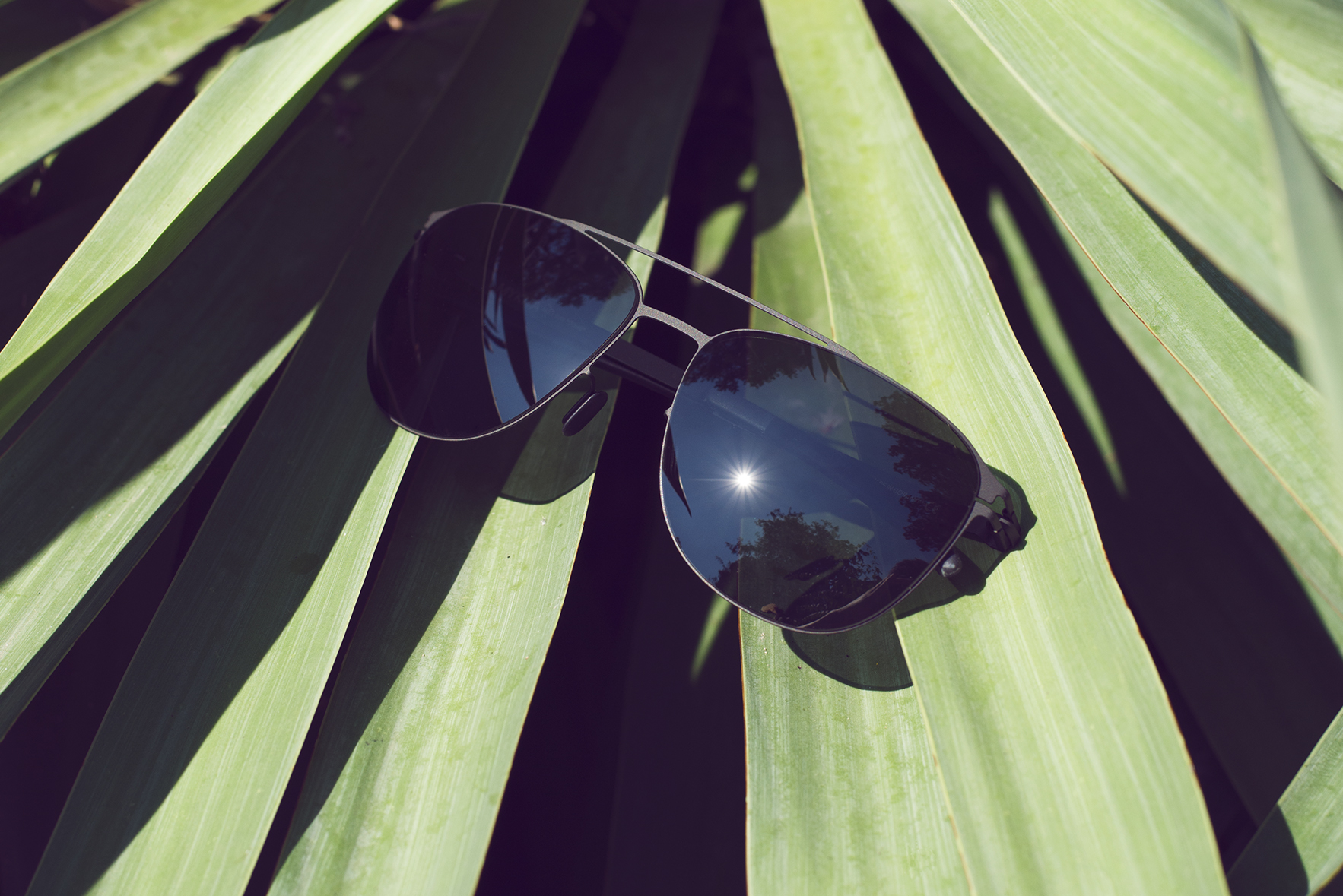 DOUG is one of the five best sunglasses for a day by the pool on MYKITA Journal
