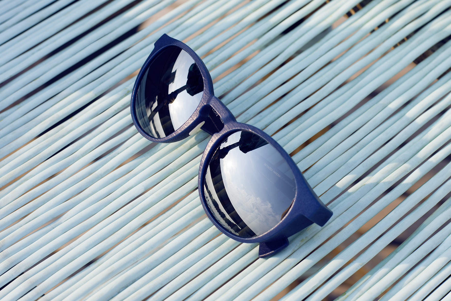 PUCK is one of the five best sunglasses for a day by the pool on MYKITA Journal