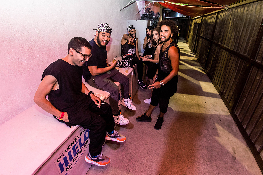 The Martinez Brothers backstage before their set at Circoloco Ibiza