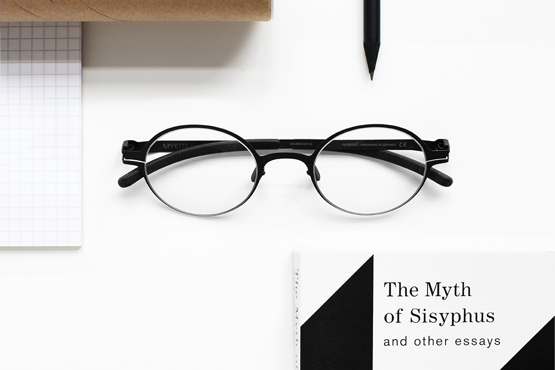 MYKITA DECADES prescription glasses PITT in MYKITA's selection of the best glasses for inquiring minds