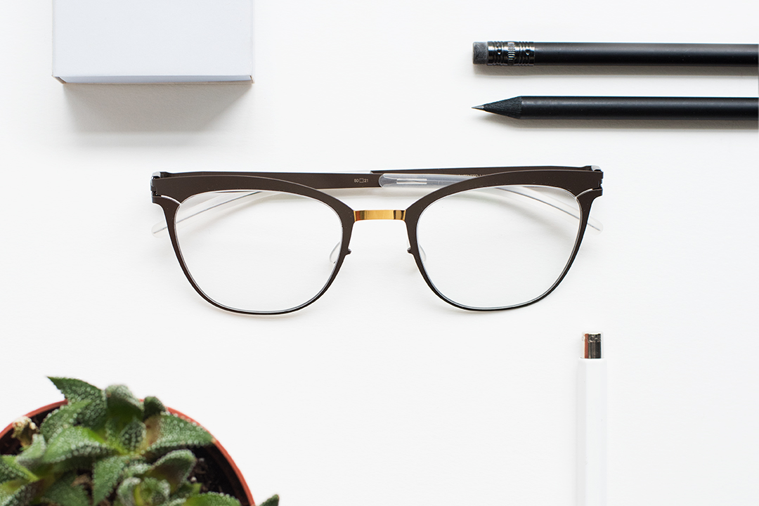 MYKITA DECADES prescription frame VIRNA in MYKITA's selection of the best glasses for inquiring minds
