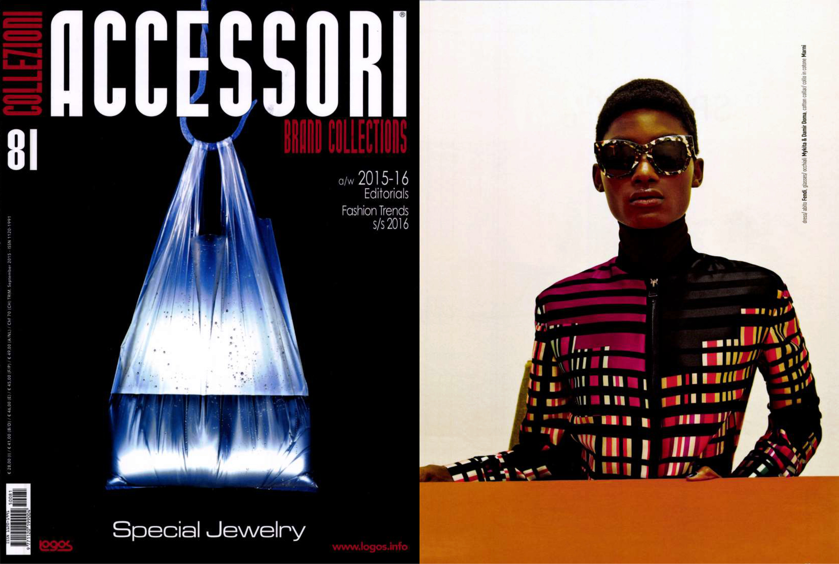 MYKITA / DAMIR DOMA sunglasses DAWN featured in Collezioni Accessori Italy