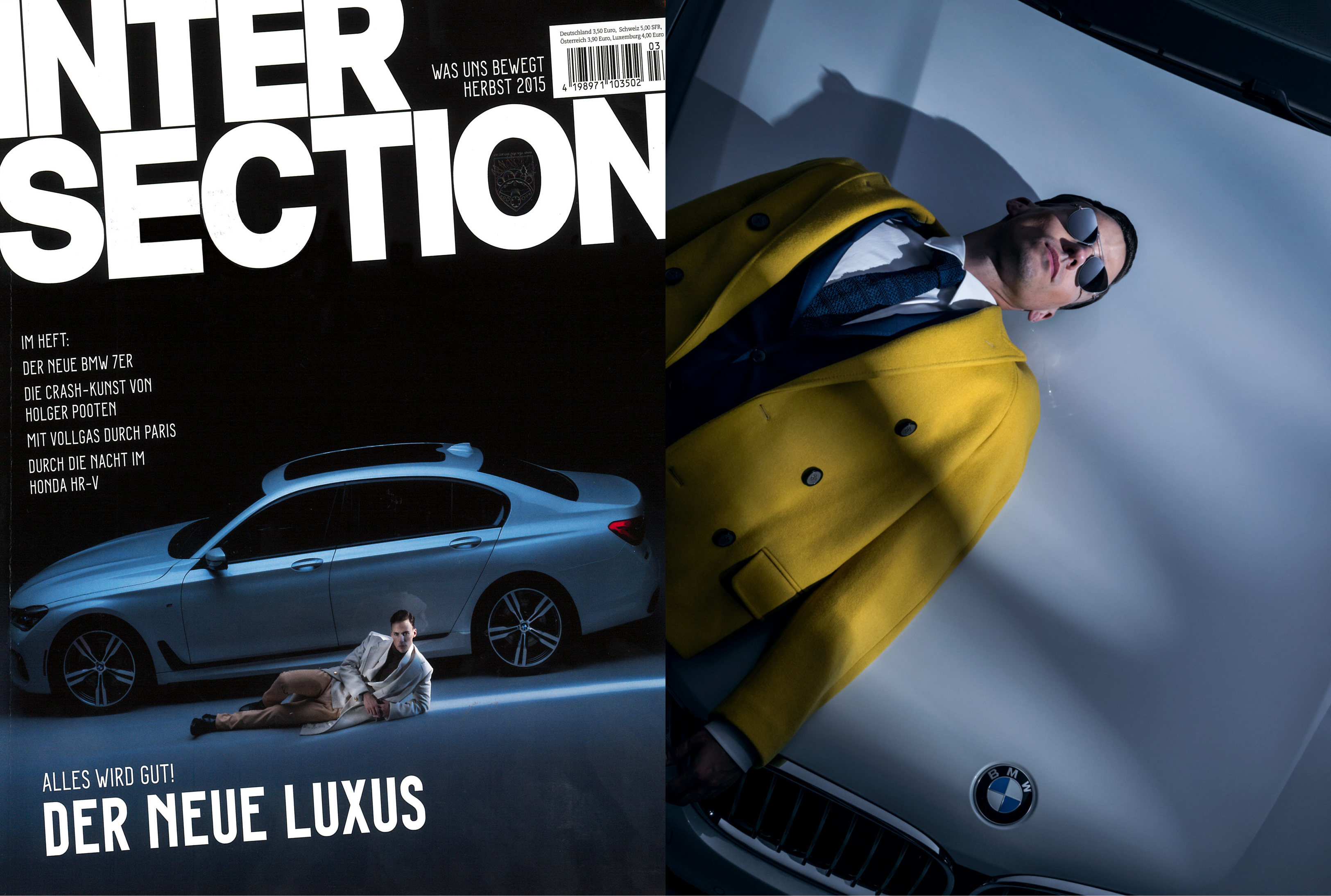 MYKITA + MAISON MARGIELA sunglasses MMESSE004 featured in INTERSECTION Germany