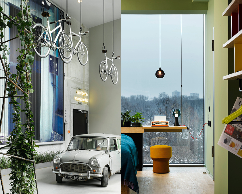25Hours hotel in der MYKITA Berlin Guide: STAY