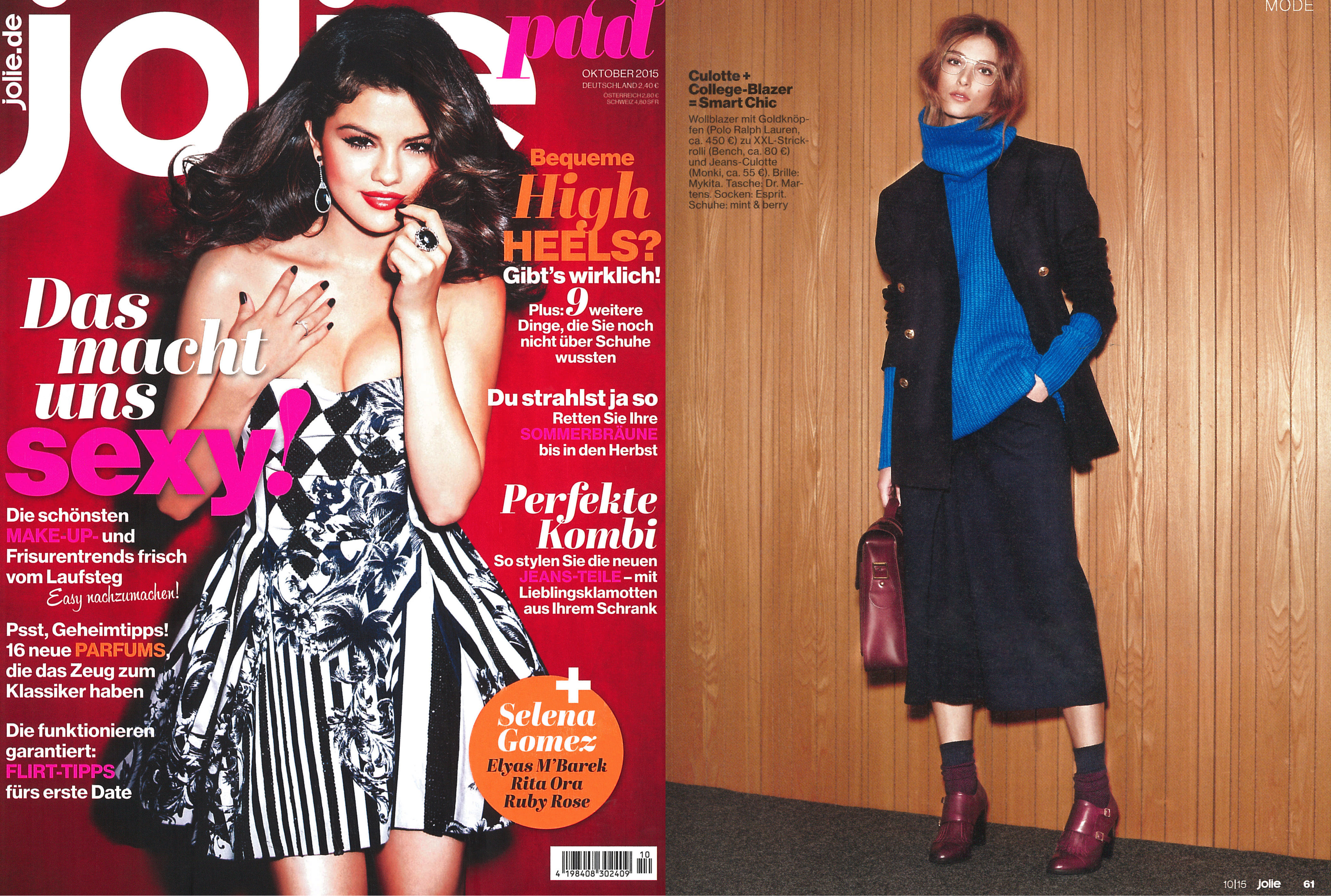 MYKITA LITE sunglasses CLAAS featured in JOLIE Germany
