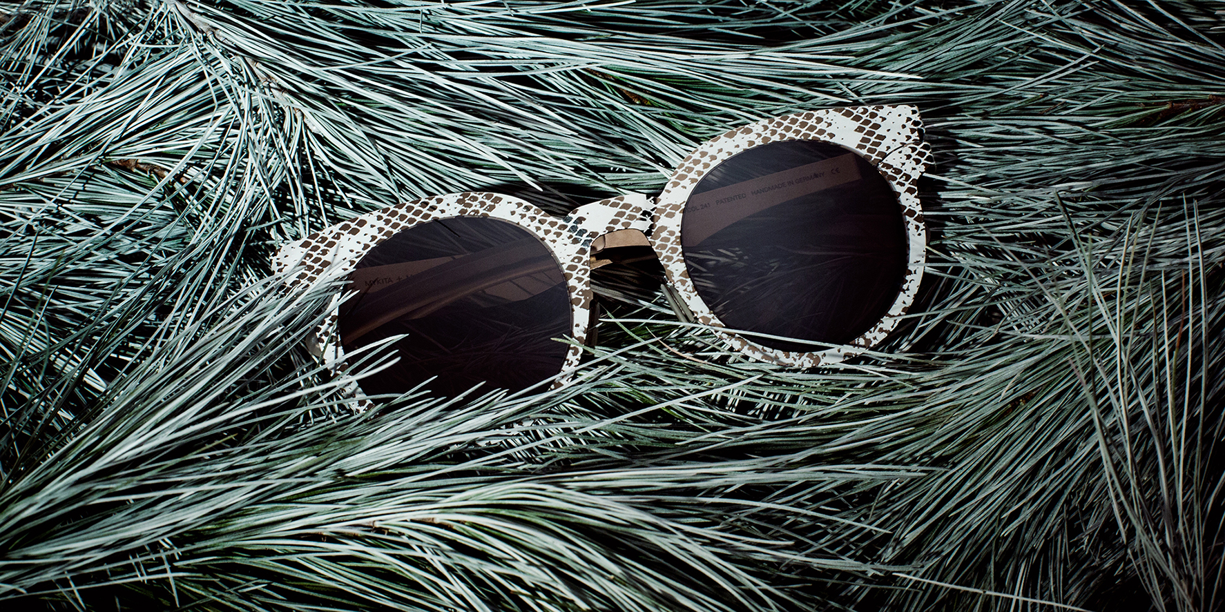 MYKITA + Maison Margiela sunglasses MMTRANS001 in MYKITA Journal's best glasses for the holidays