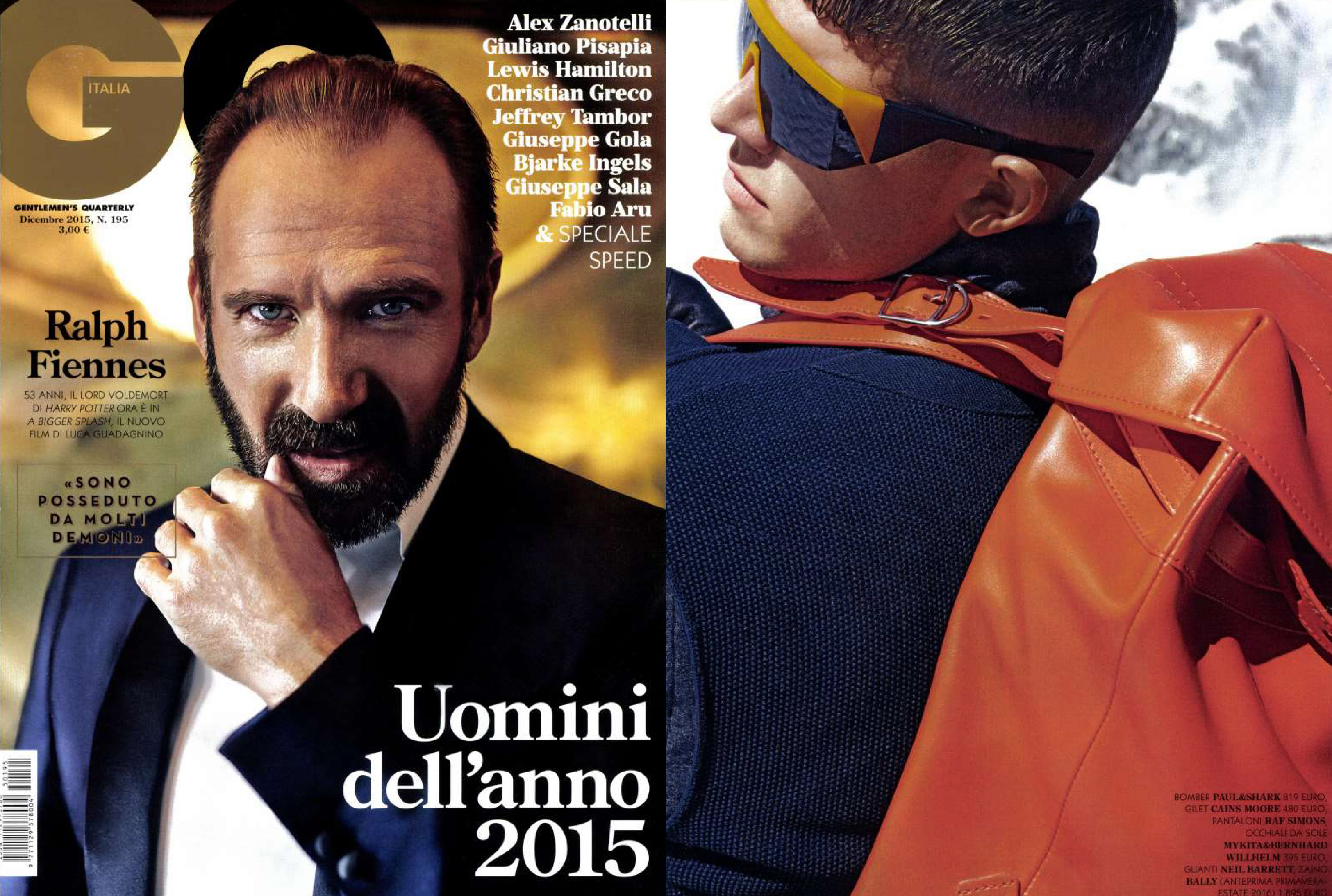 MYKITA & BERNHARD WILLHELM sunglasses VICE featured in GQ Italy