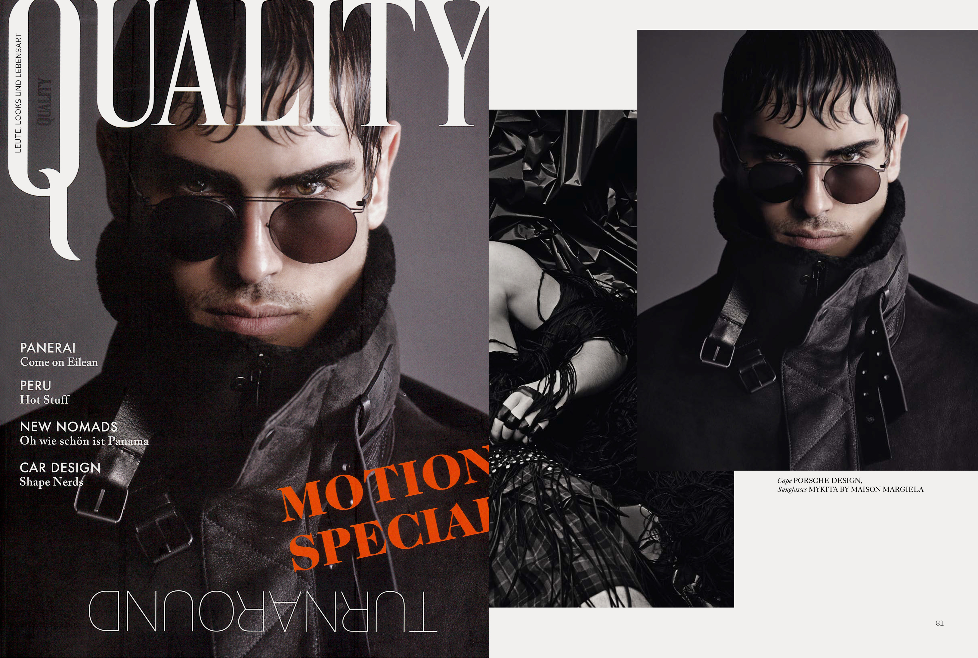 MYKITA + MAISON MARGIELA sunglasses MMESSE009 featured in QUALITY Switzerland