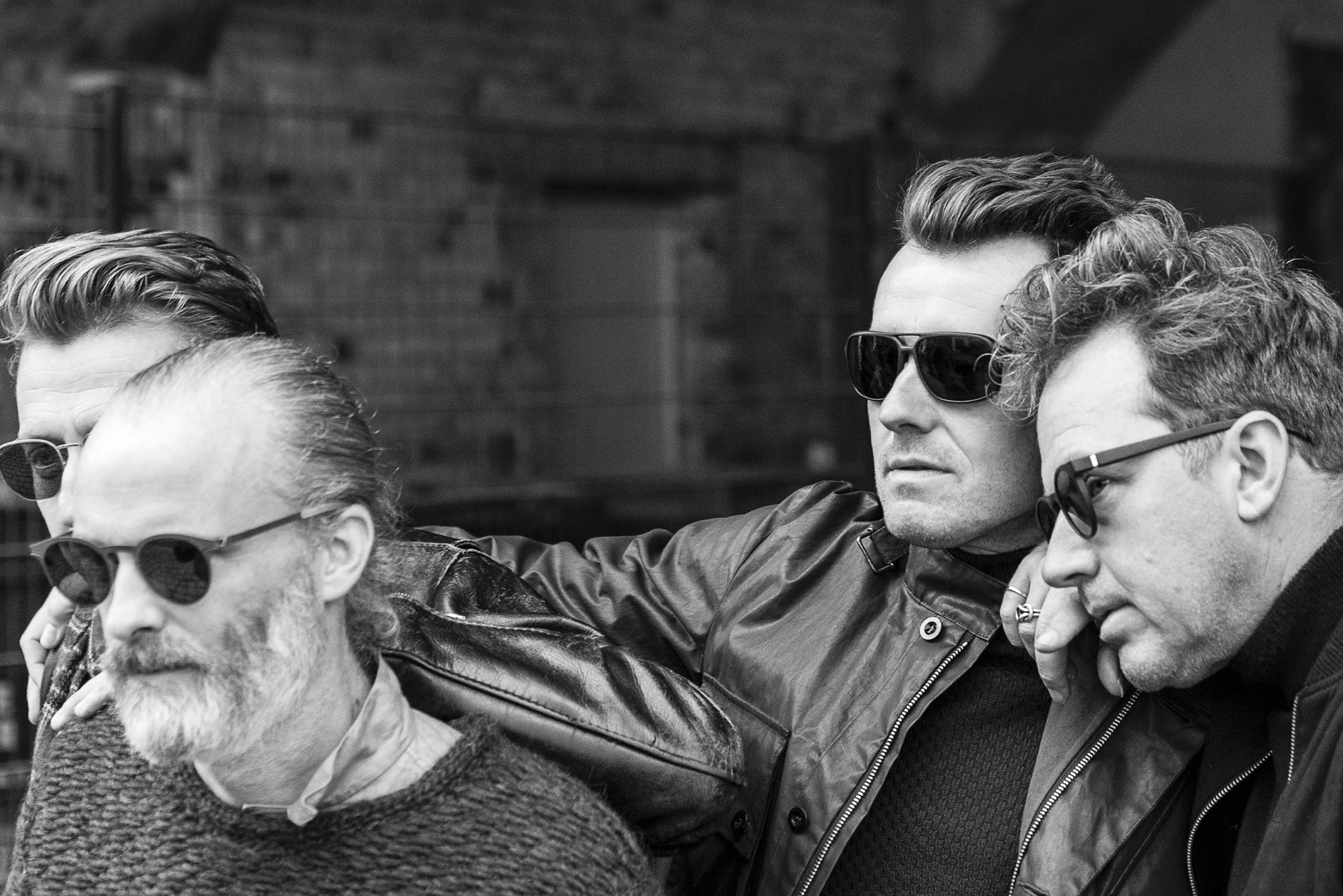 Scottish rock band Travis wears MYKITA sunglasses in MYKITA JOURNAL