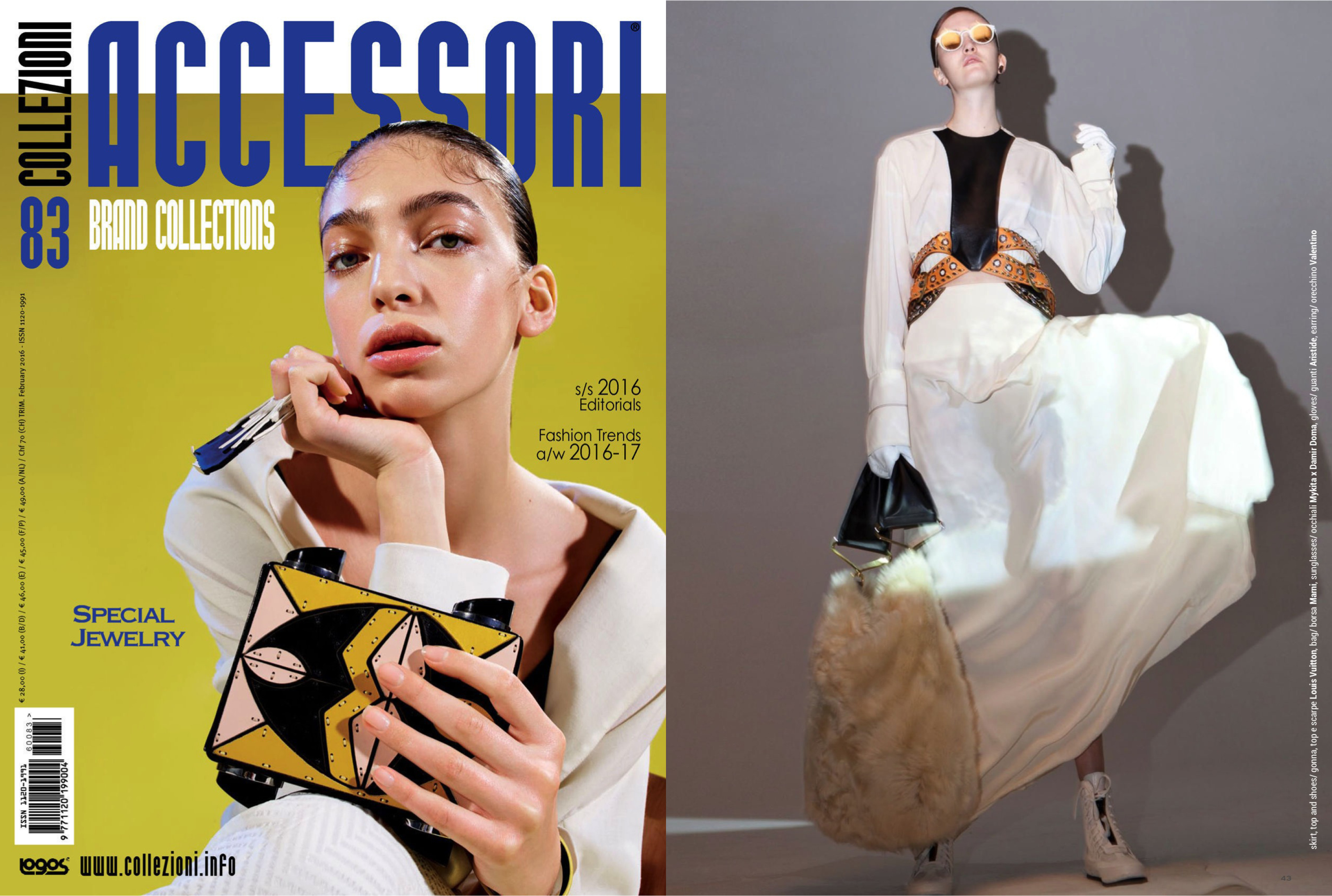 MYKITA / DAMIR DOMA sunglasses BRADFIELD featured in Collezioni Accessori Italy