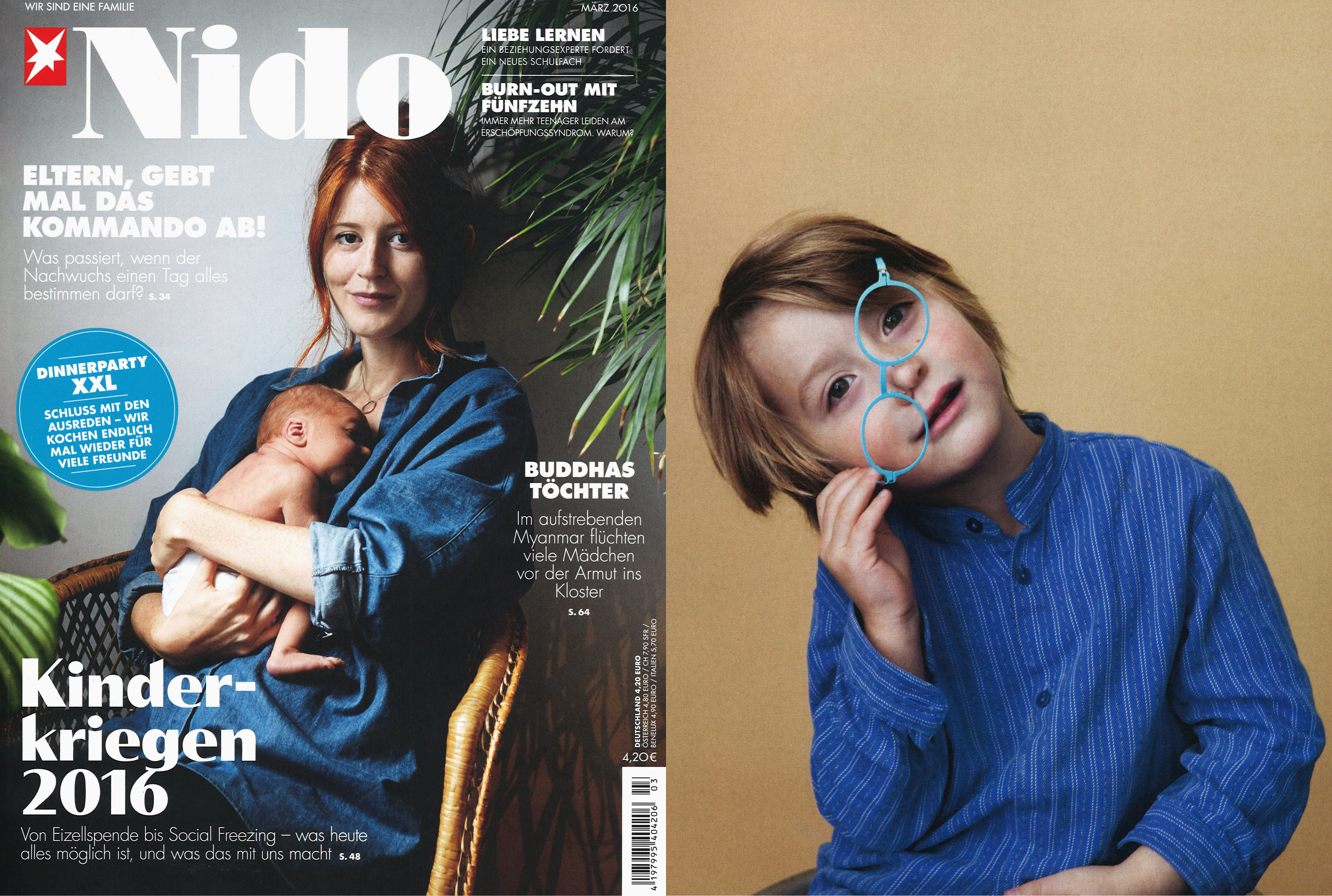 MYKITA FIRST glasses FLAMINGO featured in Nido Germany