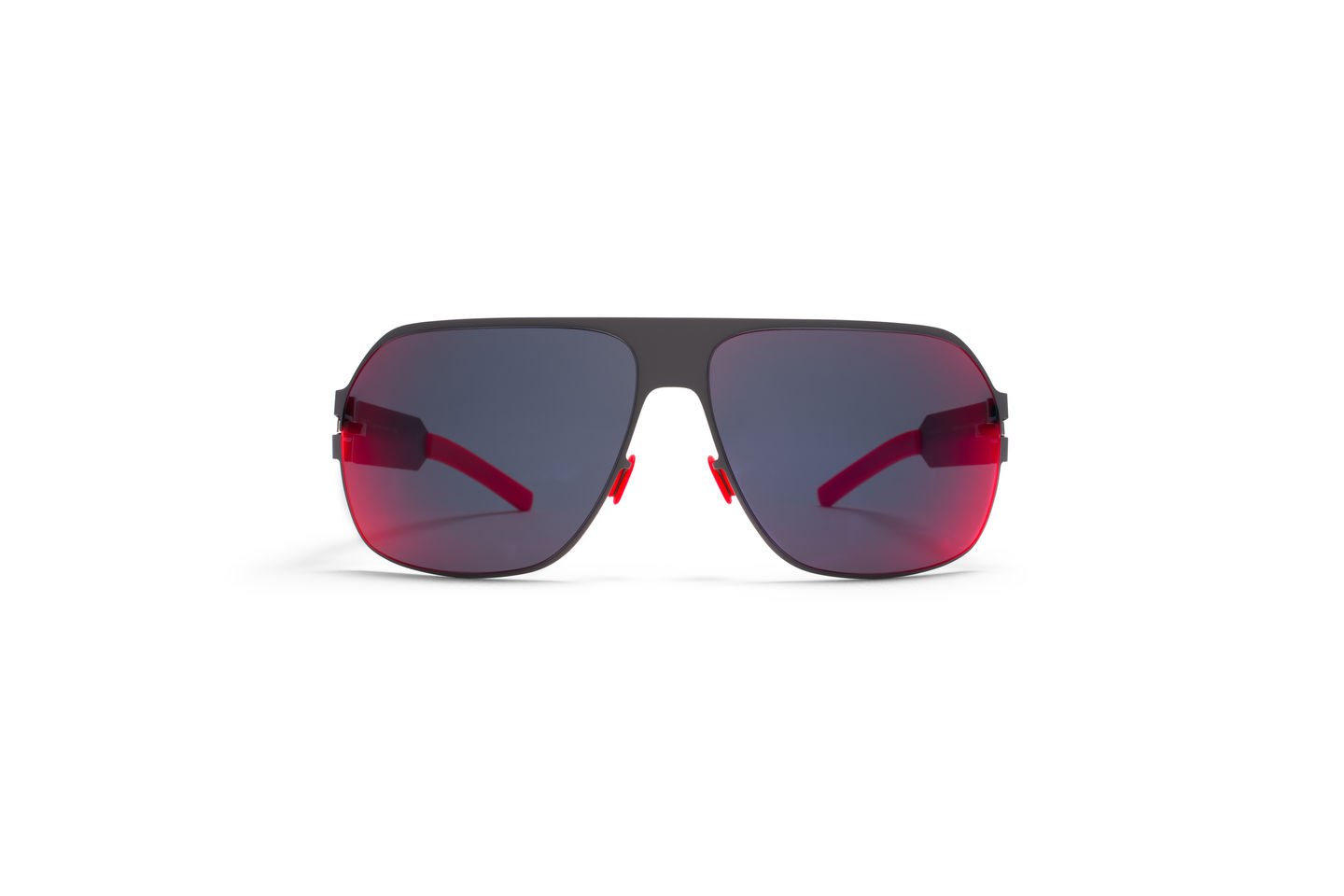 MYKITA & Bernhard Willhelm sunglasses XAVER in MYKITA JOURNAL's  Tropical Edit