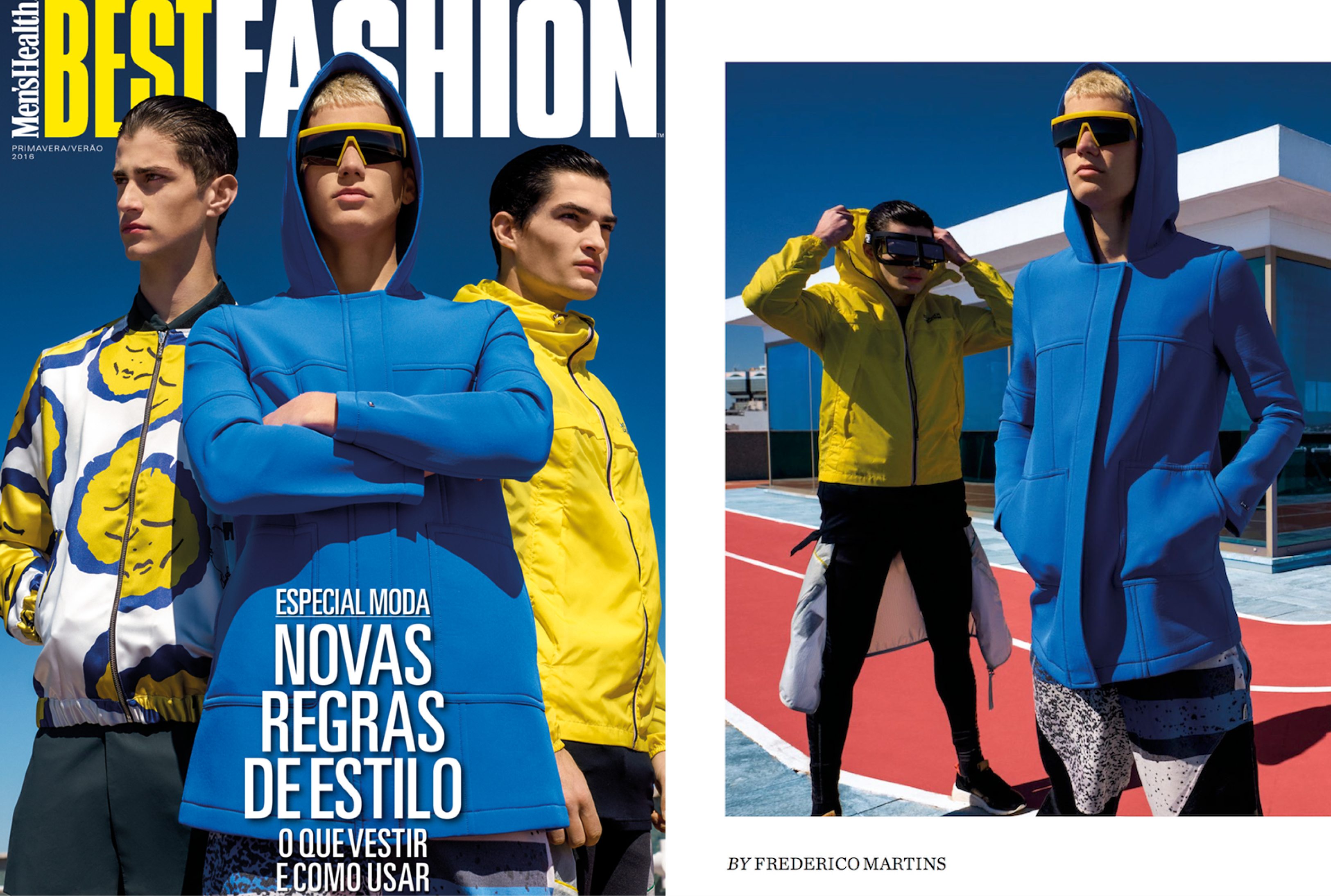 MYKITA & BERNHARD WILLHELM Sonnenbrille VICE erschienen in Men's Health Best Fashion Portugal