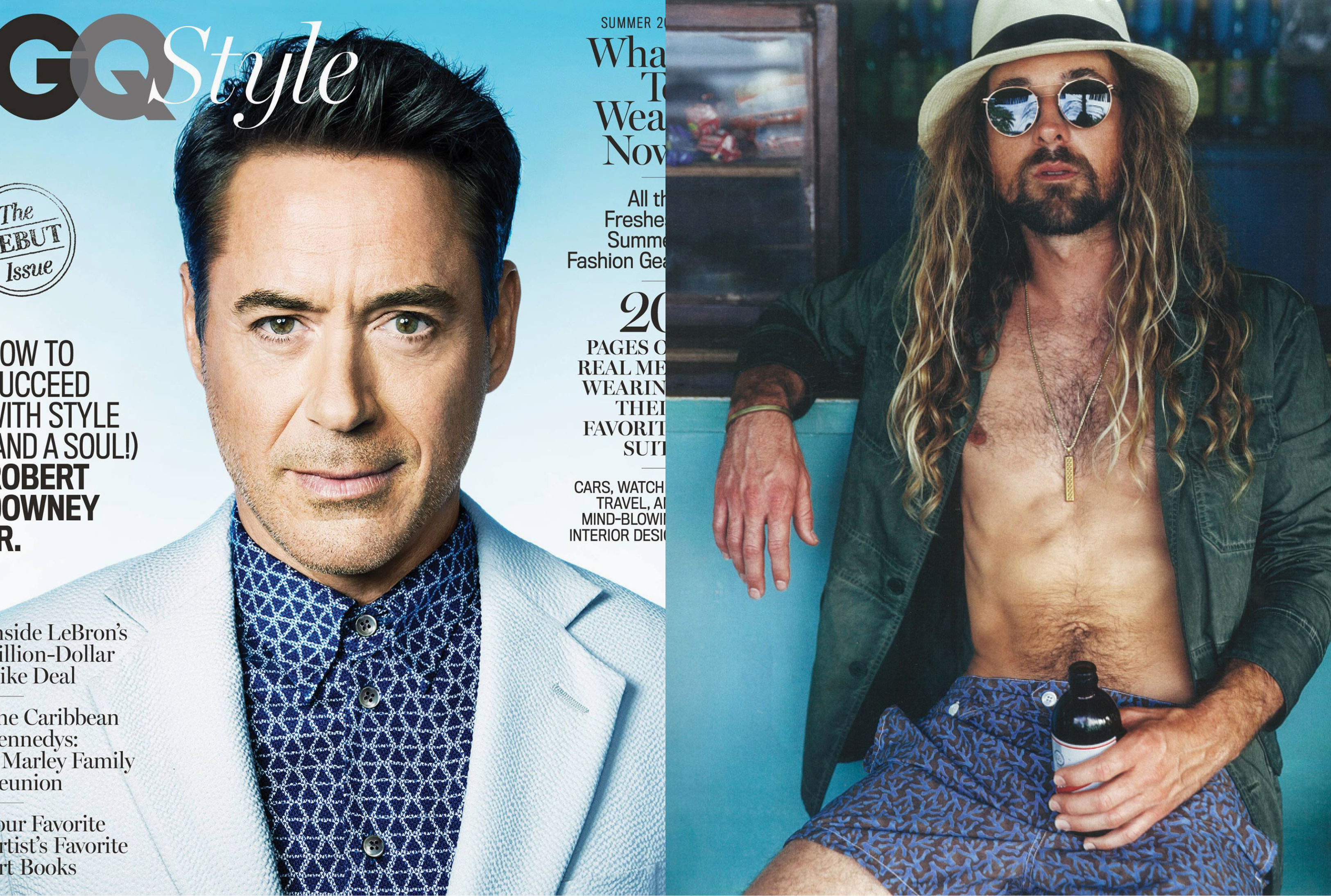MYKITA MYLON sunglasses ELDER featured in GQ Style USA