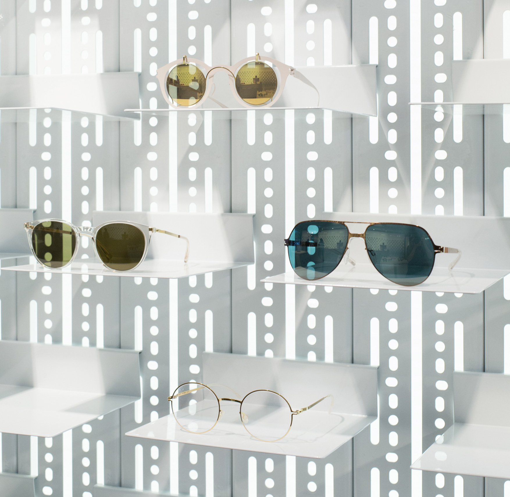 A shopping guide to the eyewear highlights of the season, as well as the evergreens in the MYKITA collection of designer glasses and sunglasses.