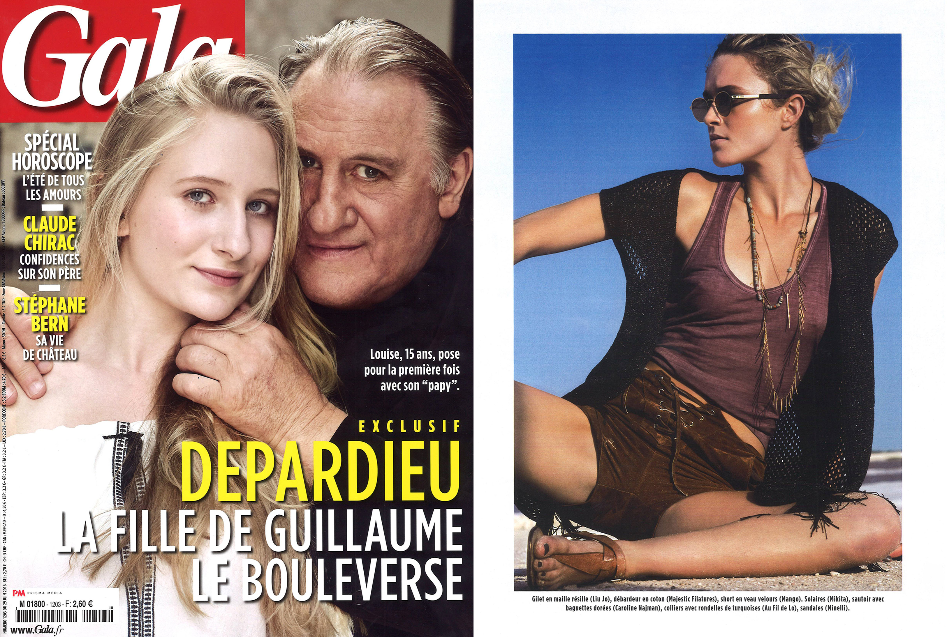 MYKITA MYLON sunglasses QUINCE featured in Gala France