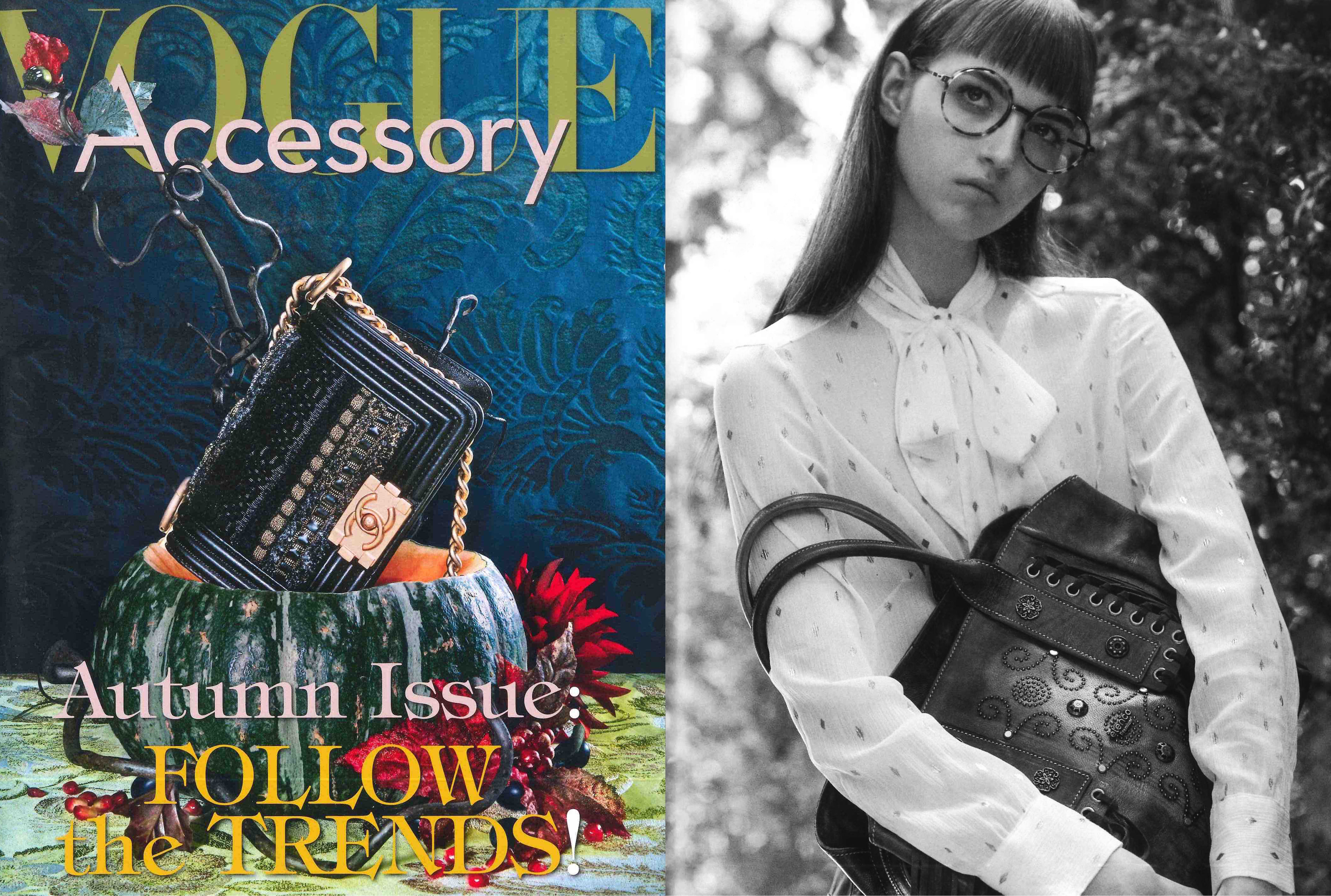 MYKITA LITE glasses ANANA featured in Vogue Accessory Italy