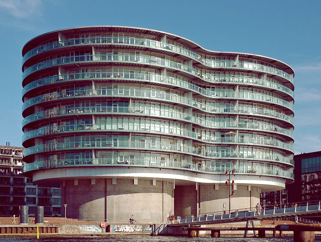 Gemini Residence Islands Brygge Copenhagen By Bob Collow