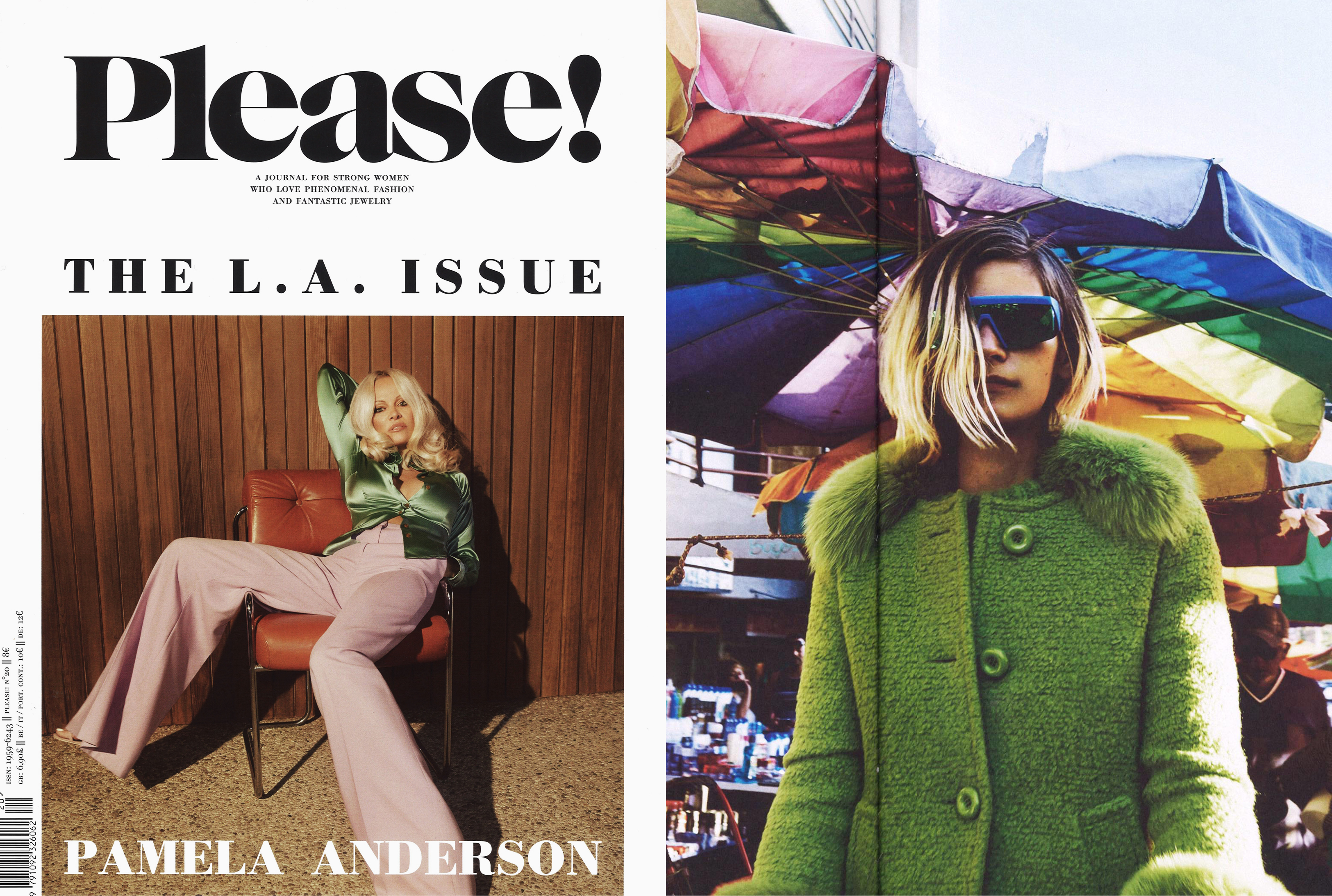 MYKITA & BERNHARD WILLHELM sunglasses VICE featured in Please! UK
