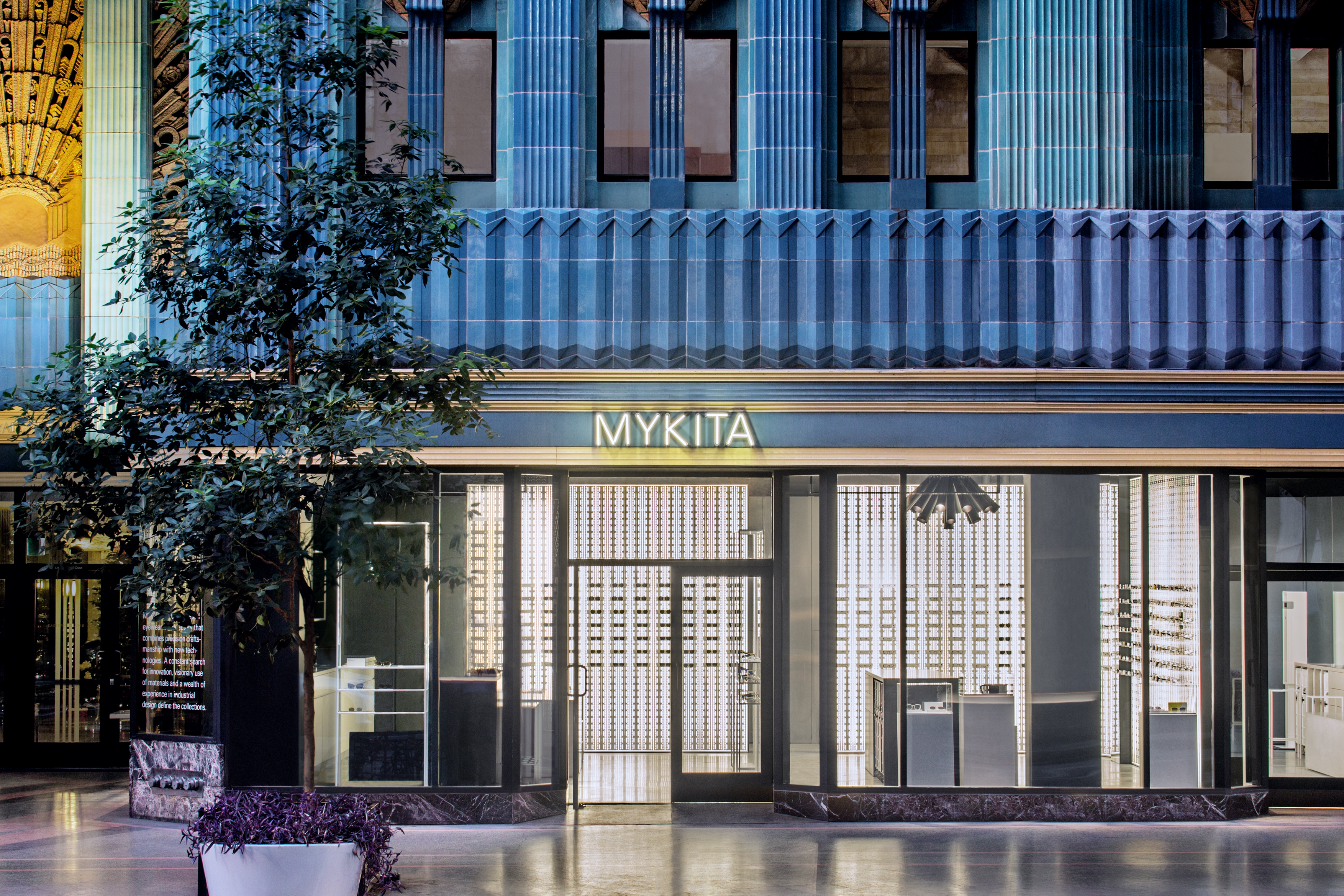 The MYKITA Shop Los Angeles in the Eastern Columbia Building, Downtown L.A.