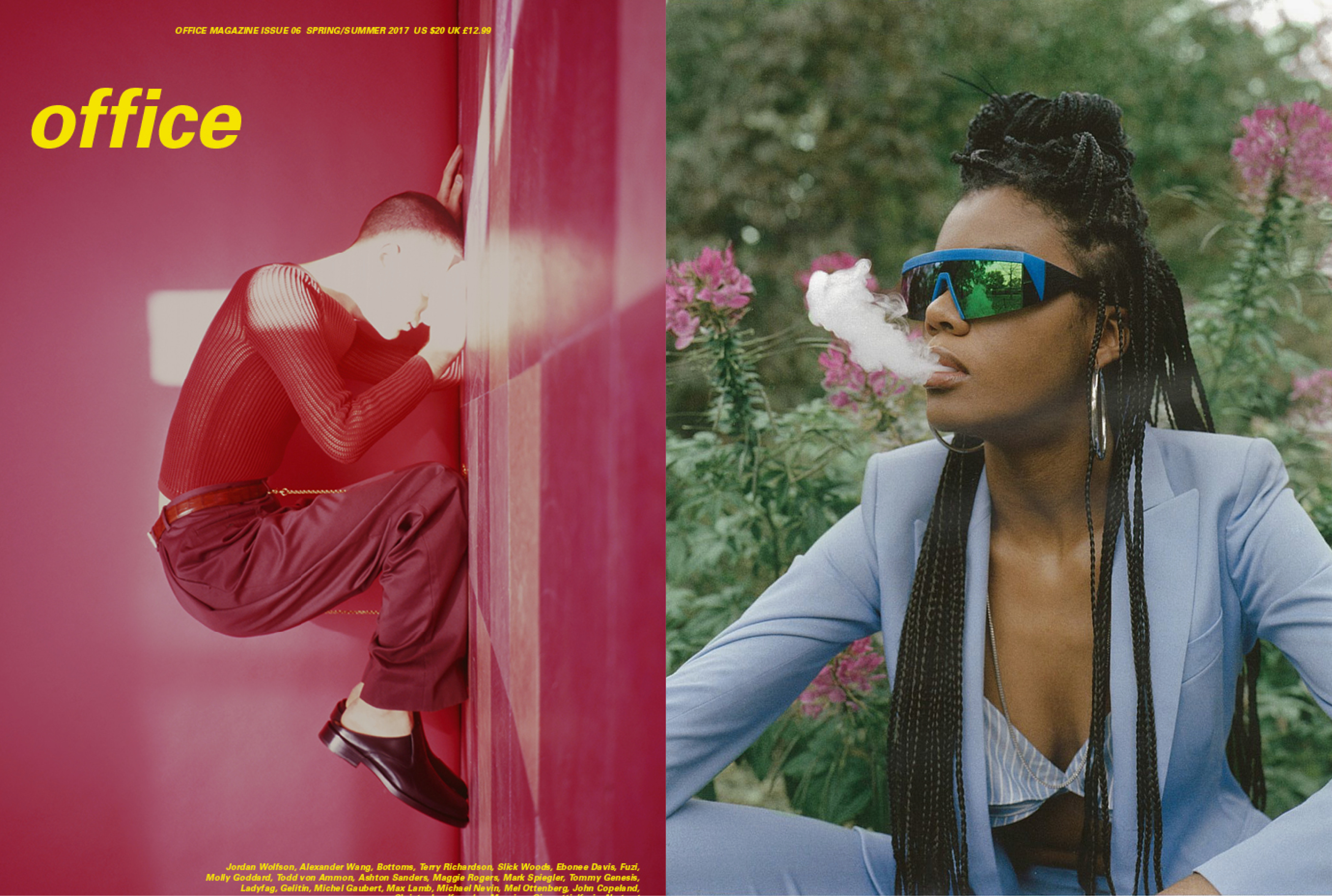 MYKITA & BERNHARD WILLHELM SUNGLASSES VICE FEATURED IN OFFICE US