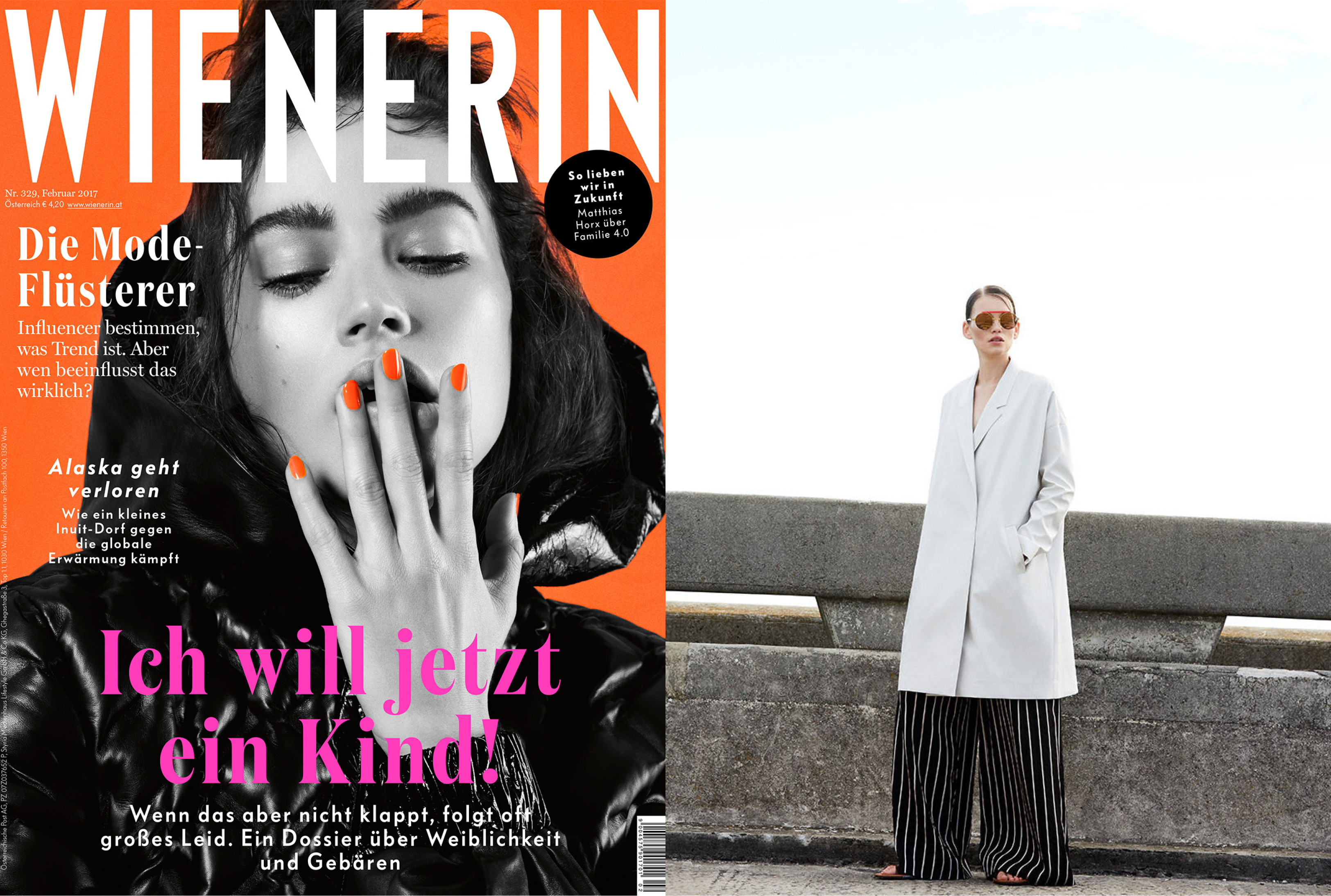 MYKITA + AMBUSH SUNGLASSES VERBAL FEATURED IN WIENERIN AUSTRIA